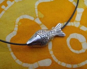 Little Fish Pendant Necklace