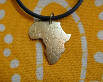 Little Brass Africa Pendant Necklace
