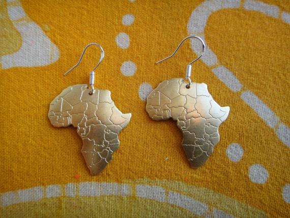 Little Brass Africa Charm Earrings
