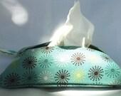 Cotton Retro Tissue Cozy 100% handmade Perfect Stocking Stuffer Kleenex hankie accessories