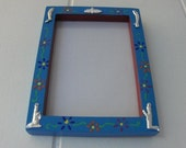 Colorful and Festive Milagros Frame