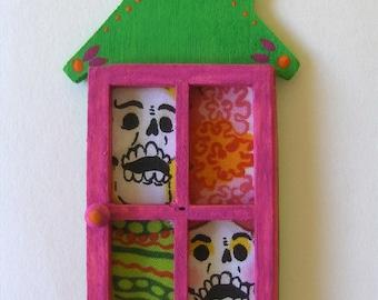 Colorful Mini House Shrine Magnet