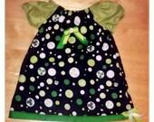 Kiss me I'm Irish Infant Dress - FREE SHIPPING