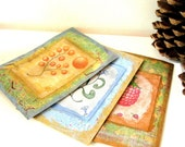 Greeting cards, set of 3