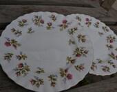 vintage tea plate royal albert pair winsome bone china