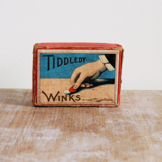 Antique tiddledy winks tiddely winks games toy for adults and children tiddlywinks