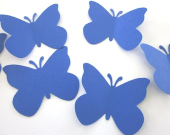 Large Royal Blue  Butterfly  die cuts