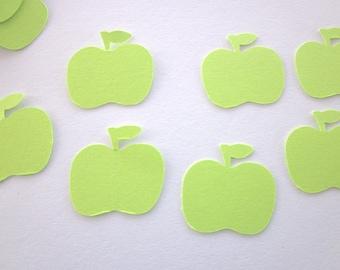75 Green Apple Die Cuts
