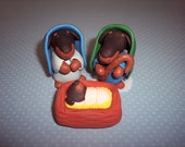 Dachshund 3 Piece Set Nativity Scene Christmas Decoration Weenie Dog