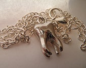 Silver Sweet Tooth Necklace