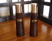 Retro Modern Style S&P Shakers