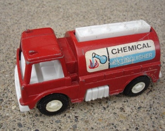 1970 Tootsie Toy- Chemical Tanker Truck