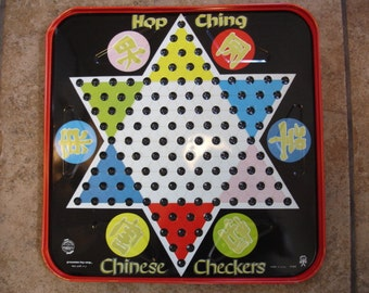 Vintage Chinese Checker Board