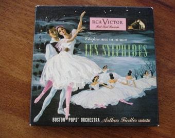 Vintage Boston Pops record set