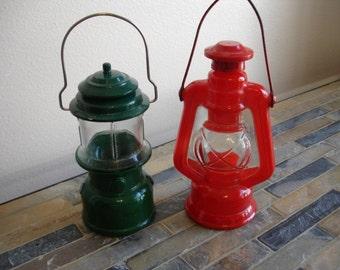 Pair Of Collectable Avon Lantern's