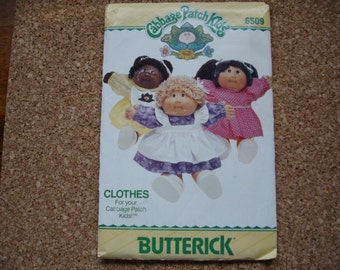 Vintage Unused Cabbage Patch Kids Sewing Pattern