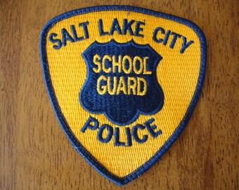 Vintage School Guard Patch