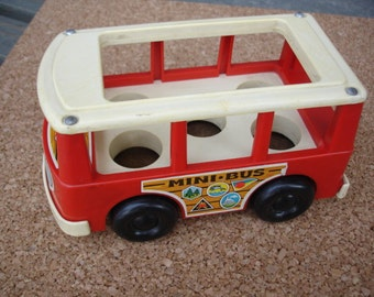 Fisher Price Mini-Bus 1969