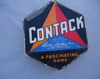 1939 Parker Brother's Puzzle Game Contack