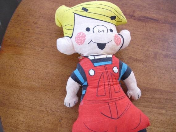 Vintage Dennis The Menace Doll