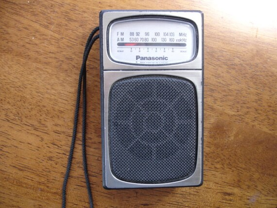 Vintage Panasonic Transistor Radio