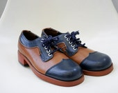 Women's leather oxford shoe size 6-61/2