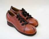 Youth leather oxford shoe size 3 1/2