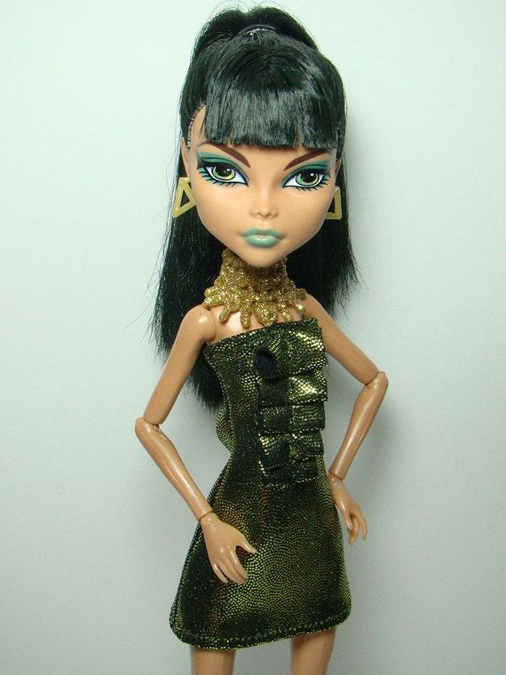 Olive sparkle front ruffle dress/tunic