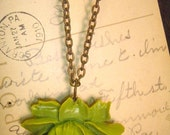 Green Fairie Necklace