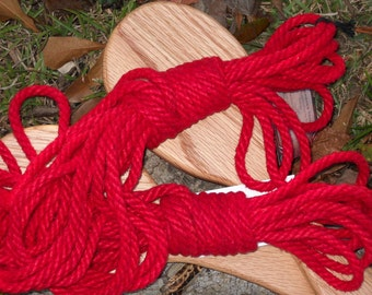 Custom dyed 6mm hemp rope