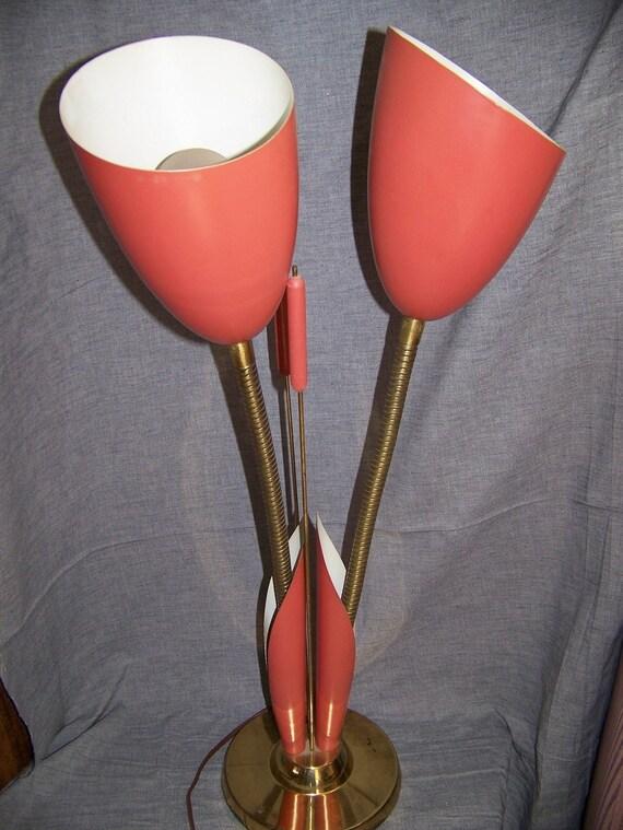 Vintage eames era retro mid century cattail lamp for Eames lampe
