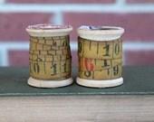 Vintage Lufkin Ruler Ribbon Measuring Tape 3 Feet