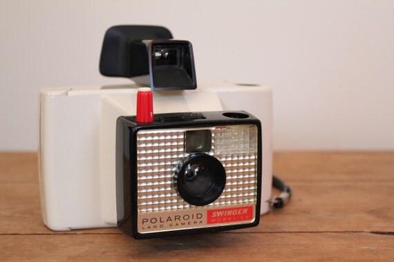 Vintage Polaroid Swinger Land Camera