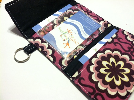 Mini trifold Wallet - Wallet - Mini Wallet - Snap Wallet - Carry All Pouch - Boutique
