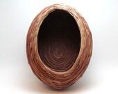 Oval Woven Pine Needle Basket