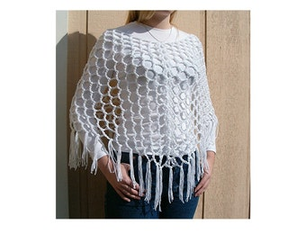 SuPeR EaSY Crochet Must Have Poncho Shawl Pattern  Instant Download