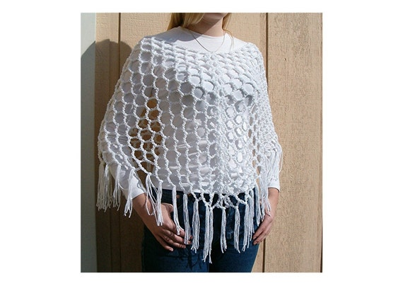 SuPeR EaSY Crochet Must Have Poncho Shawl Pattern