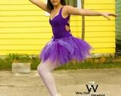Preteen & Teen Purple Tutu...Costume, Photo Prop, Ballet, Dance...14 Inch Length...Girls Sizes 10 12 14 . . . PURPLE DIVA