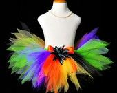 Halloween Witch Tutu...Halloween Rainbow Tutu...Witch Costume Tutu for Baby, Toddler, Girls, Adult Women . . . HALLOWEEN PIXIE
