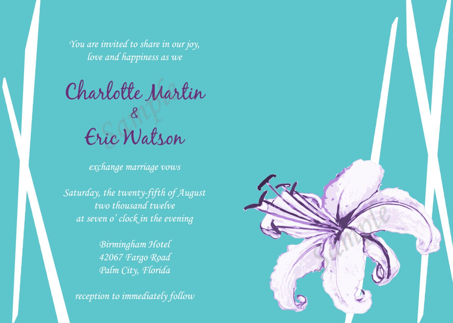 Lovely Emily Post Wedding Invitation Wording Etiquette