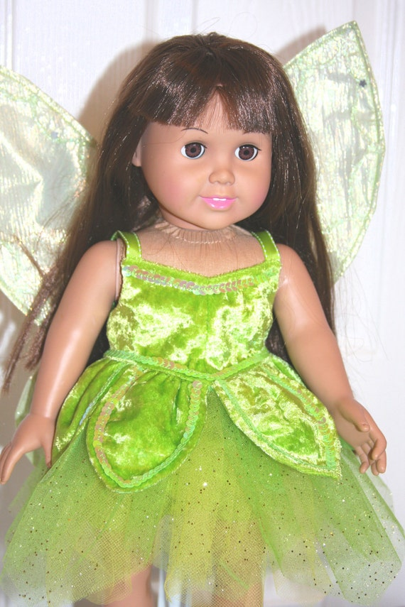 American Girl Doll Disney Hairstyles : Items similar to disney tinkerbell costume for your