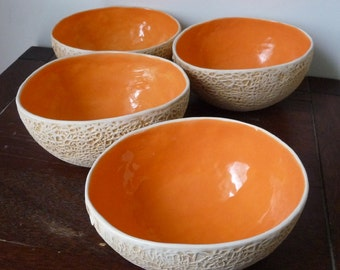Cantaloupe Bowl-Set of 4