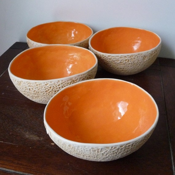 Cantaloupe Bowl-Set of 4