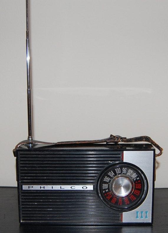 1960 S Philco Transistor Radio