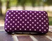 Travel wipe case // Pretty in Purple
