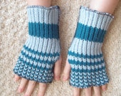 Blueberries No. 1 Handwarmers - Made From Upcycled Sweaters