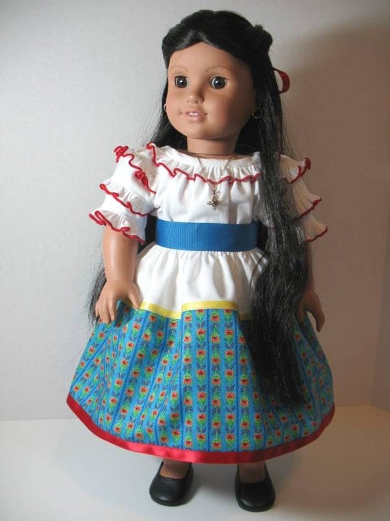 american girl josefina feast day outfit. Black Bedroom Furniture Sets. Home Design Ideas