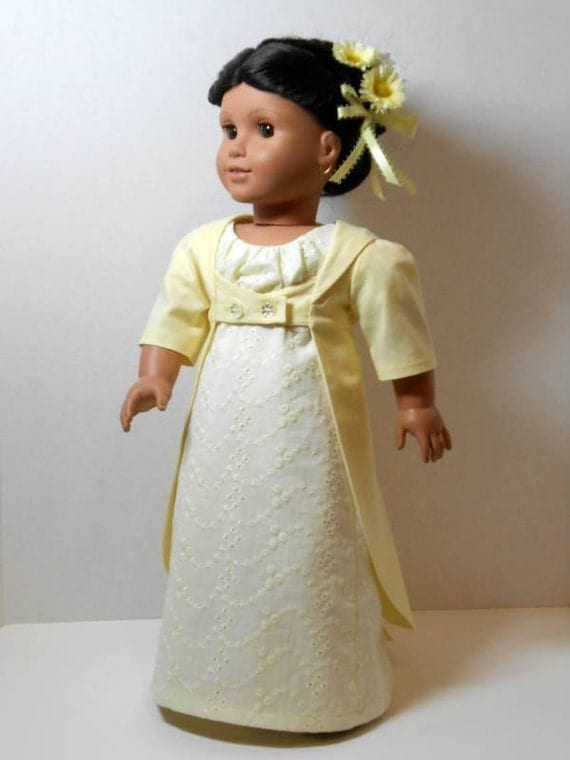 Regency Dress and Pelisse from Thimbles and Acorns Pattern