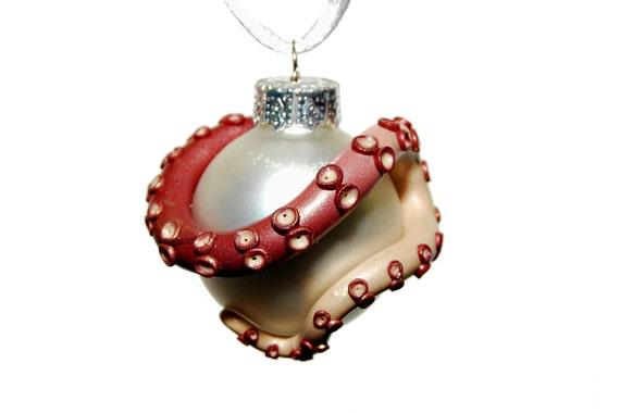 Tentacle christmas tree ornament