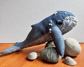 Humpback Whale No. 19 - Soft Sculpture